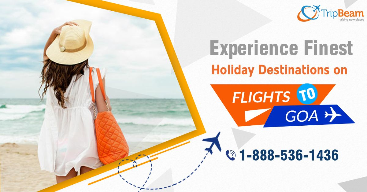 Get unique and memorable #Goa holiday package with #Tripbeam! Hurry! Explore the Vibrant Beaches and beautiful destination of Goa, India.   Contact us at: 1-888-536-1436 (Toll-Free), info@tripbeam.ca. Or, click the link in bio @tripbeamcanada.  #gogoa #traveltogoa #CanadatoIndiaflights #goadairies #beach #goatravel #tourpackage #holidayfun #Goatourism #exploregoa #CheapFlightDeals #CanadatoIndia