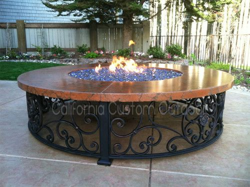 Spanish Style Fire Table Firepits Fire Pit Outdoor Fire Pit Outdoor Fire Pit Designs
