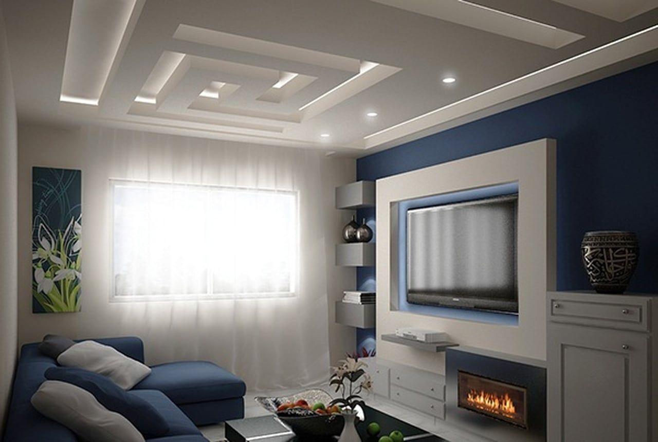 نتيجة بحث الصور عن جبس عصري Ceiling Design False Ceiling Design Home Decor