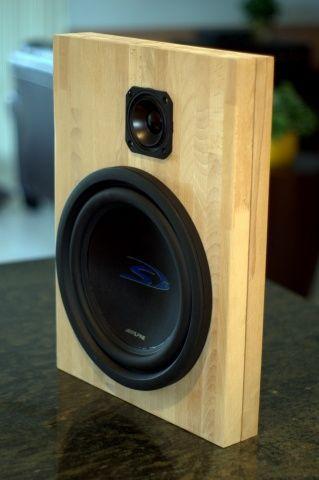 Lovely Alpine SPS 517 U2013 Open Baffle Speakers