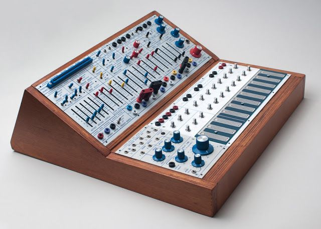 Custom Buchla Easel Clone Cabinet Synthesizer Easy Guitar Circuit Bending