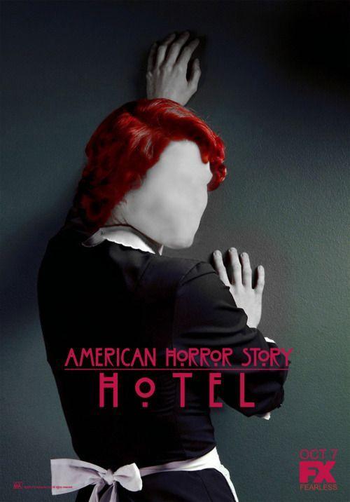 Ahs Hotel Series E Filmes Cartaz E America Horror Story