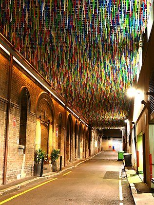 Sydney laneways transformed by art | Installation art ...
