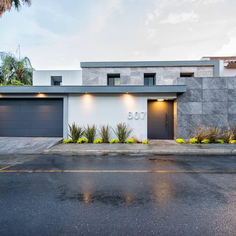 Beauté de marbre  la maison moderne,luxueuse et élégante - Idee Facade Maison Moderne