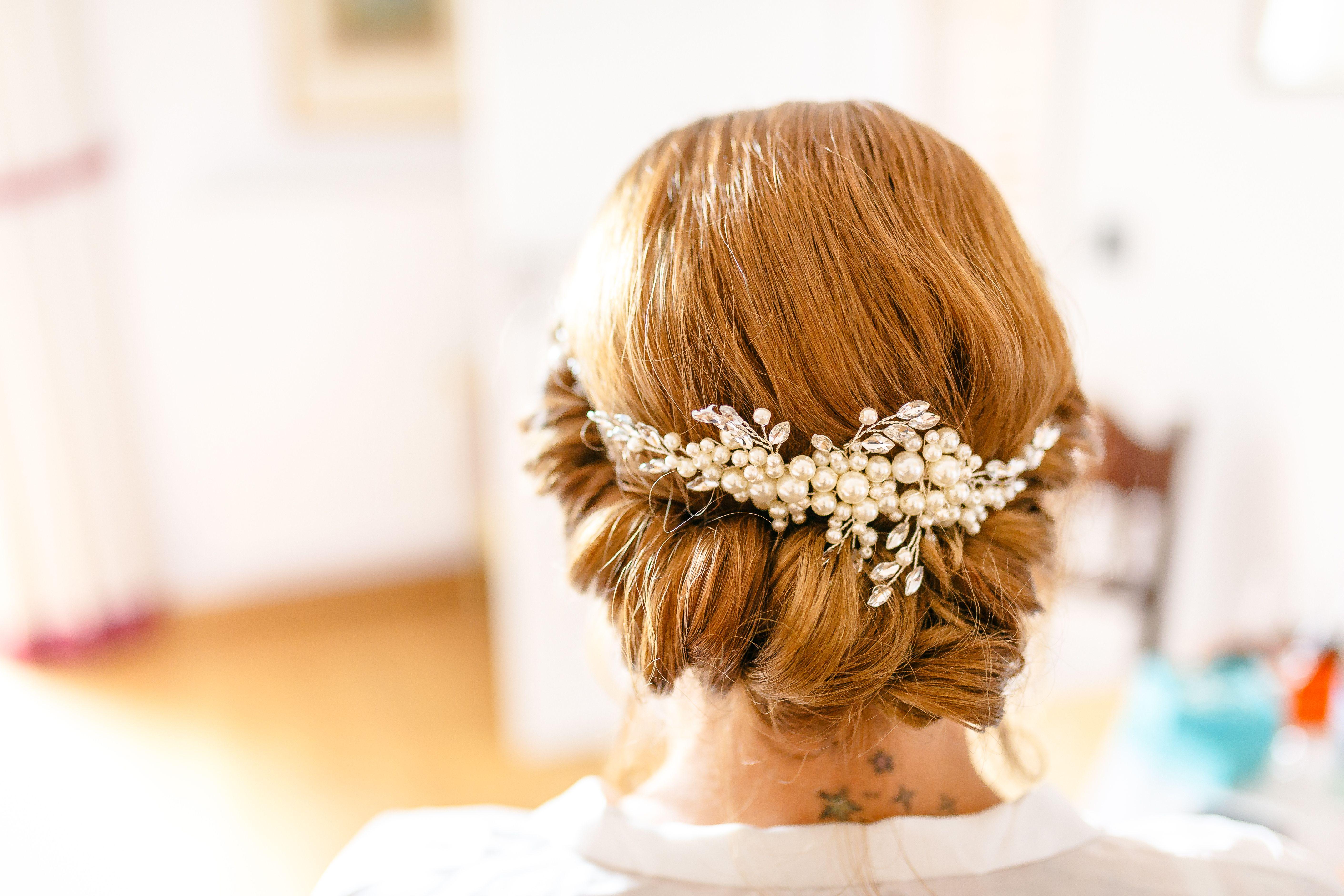 Bridal Updo Hochsteckfrisur Frisur Hochgesteckt Brautfrisur Hochsteckfrisur