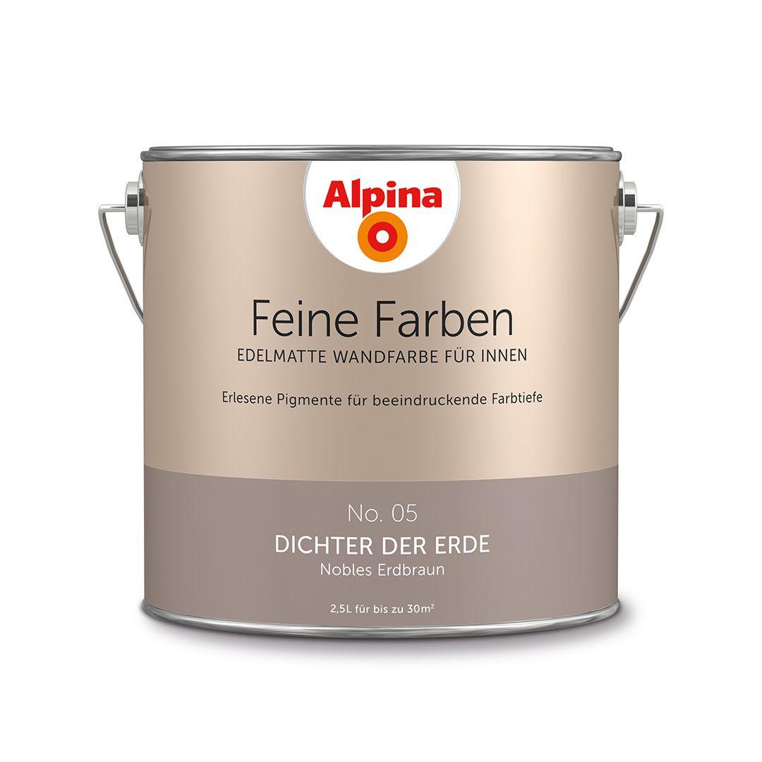 Alpina Feine Farben No. 05 – Dichter der Erde. #Design #DIY #Farbe ...