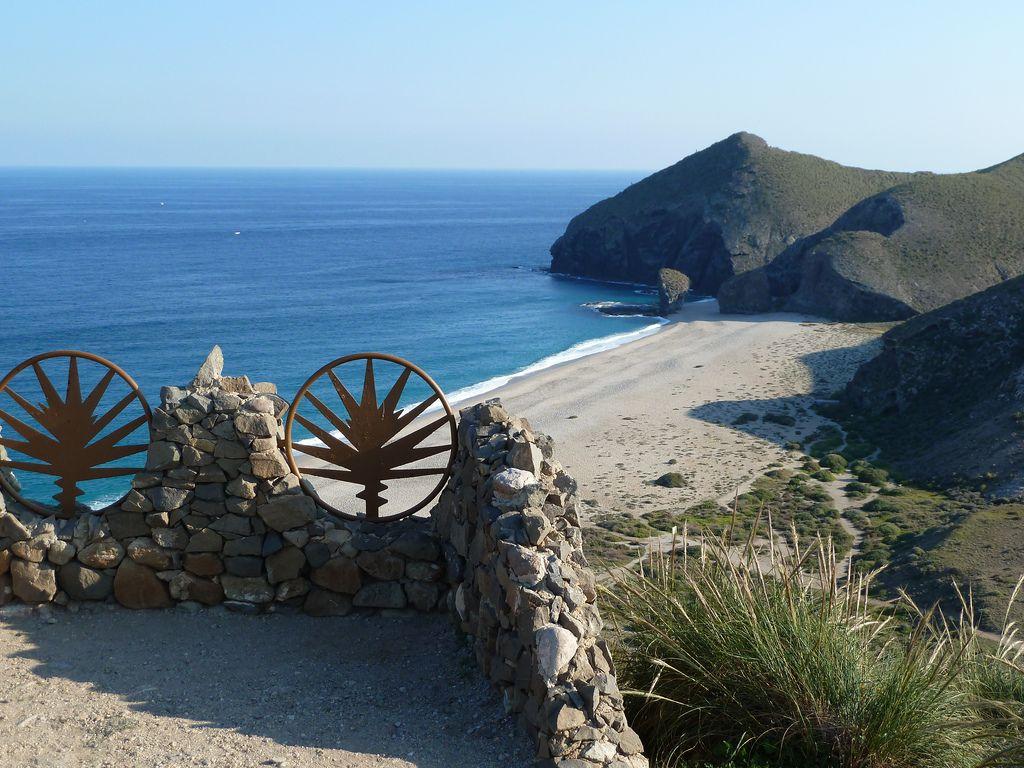 Playa De Los Muertos Cabo De Gata Almería Playa De Los Muertos Costa De Almeria Cabo De Gata Almeria