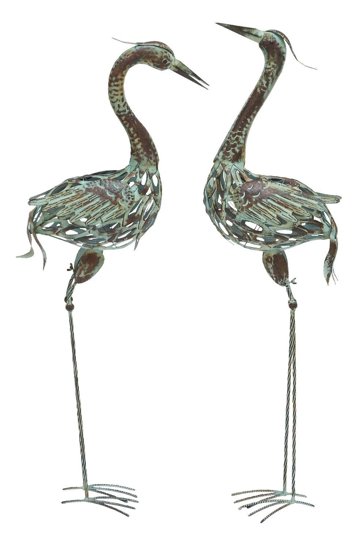 Decorative Crane Statue   Https://plus.google.com/103547151079197770407/ ·  Bird SculptureGarden ...
