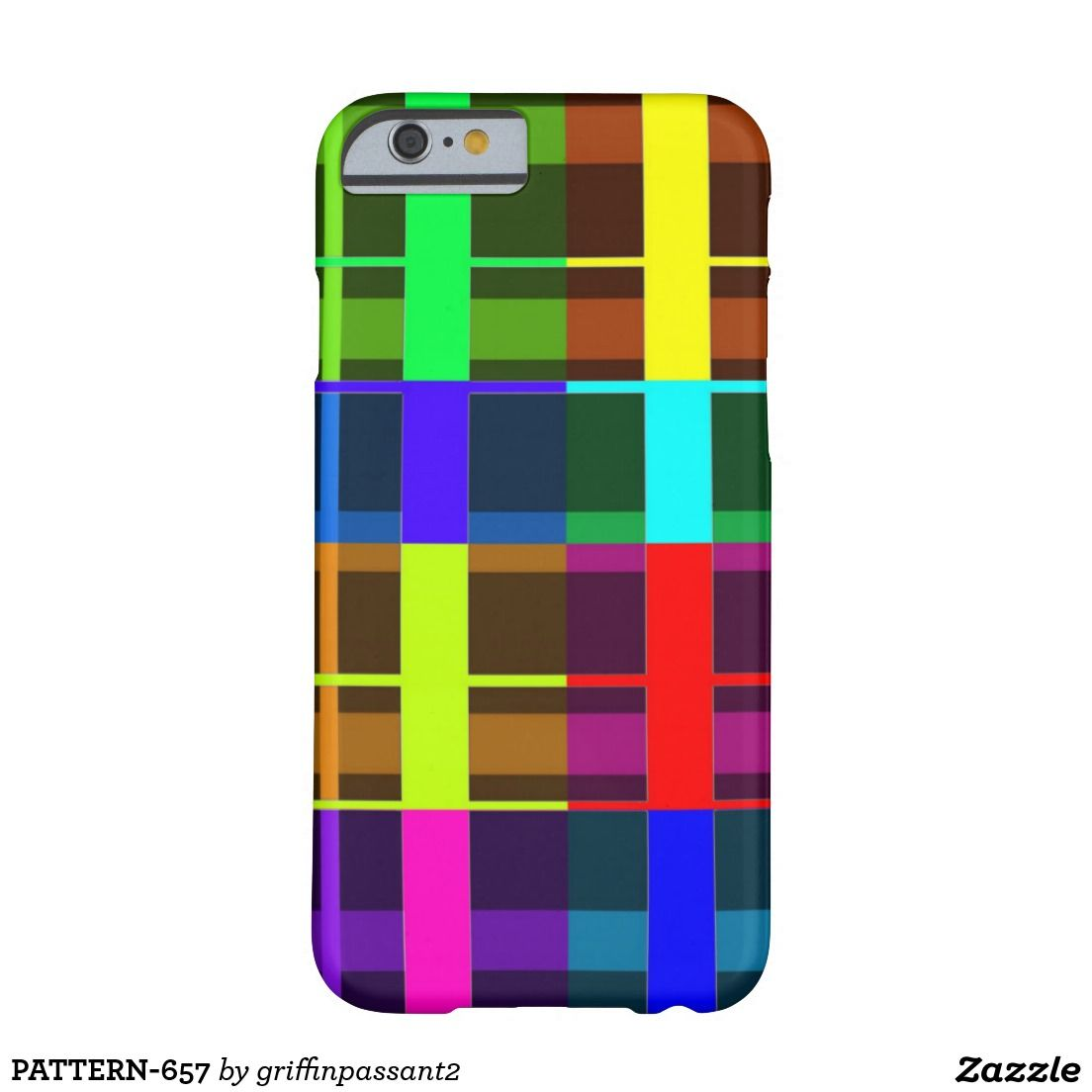 PATTERN-657 BARELY THERE iPhone 6 CASE