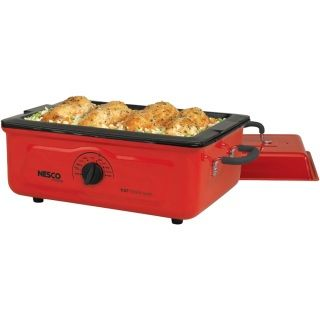 Nesco 5 Quart Porcelain Roaster Oven Add A Small Dependable Portable Oven  To Your Kitchen