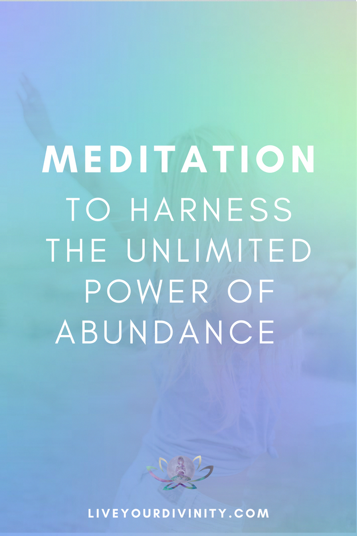 Guided meditation to make money and attract abundance into
