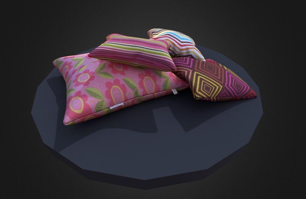 Coussins par alex by gnout coussins 3d colorés Pinterest 3d