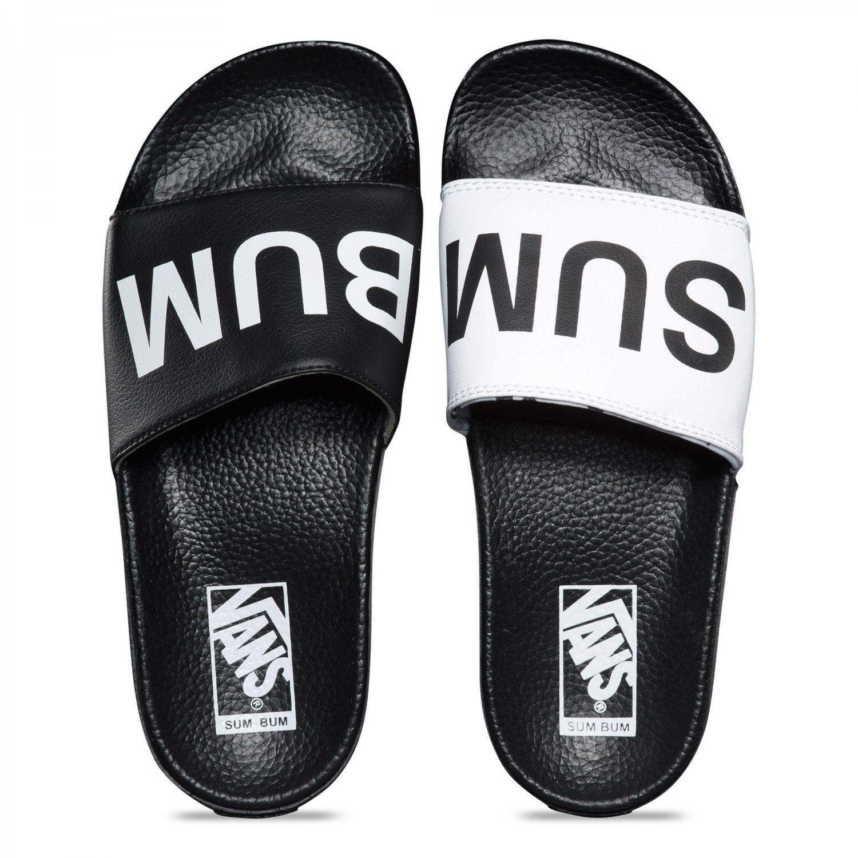 fc152dc8d Vans Vans Summer Bummer Slide-On Sandals (Summer Bummer) Black - Vans UK  Official Online Store