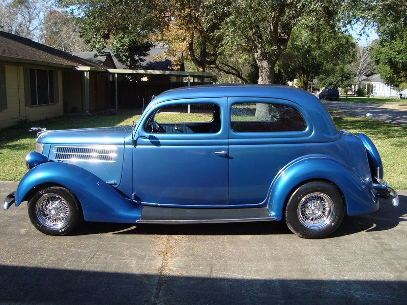 1936 Ford Tudor Humpback Street Rod All Steel Body for sale by Owner ...