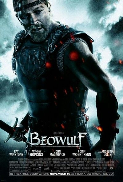 Beowulf Movie Poster Action Adventure Movie Posters Artwork