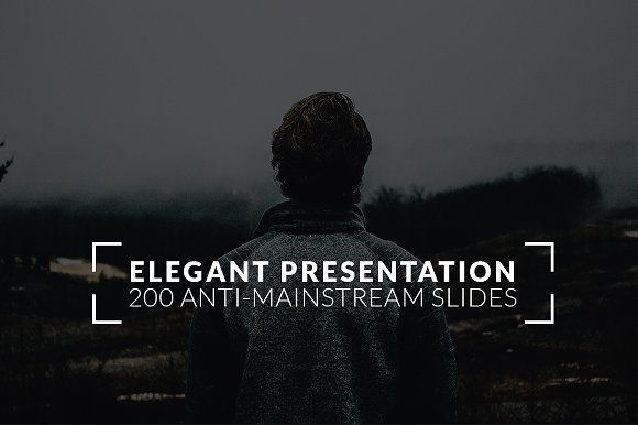 Elegant Powerpoint Template By Binangkit On Creativemarket