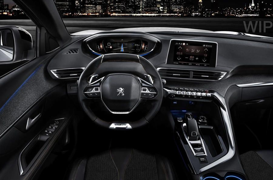 Peugeot 3008 GT futuristic and high quality interior.   À acheter ...