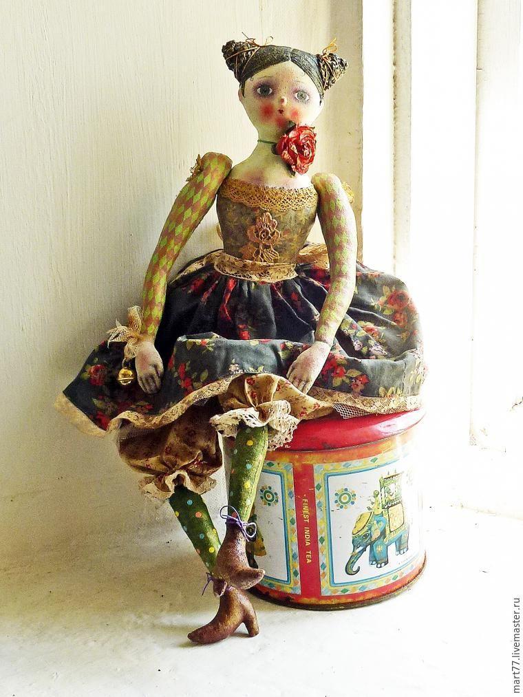Будуарная, запекаемая кукла из текстиля. | Художественные ...