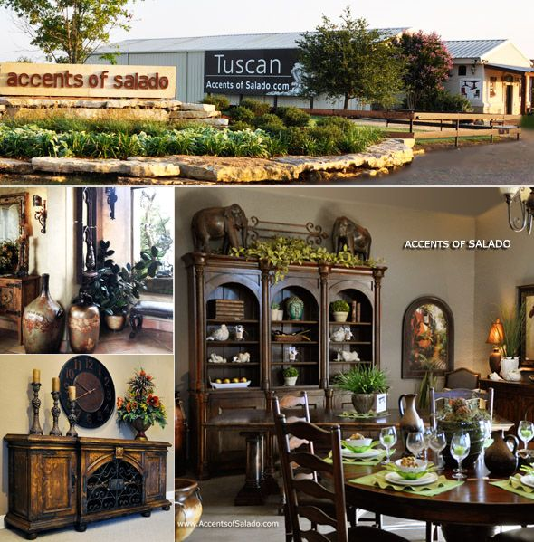 Tuscan Style Dining Room Furniture: Tuscan Decor Home Decorating 2013 Tuscan Decor Products
