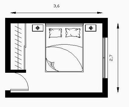 El minimalismo en una habitaci n est ndar http www - Habitacion a medida ...