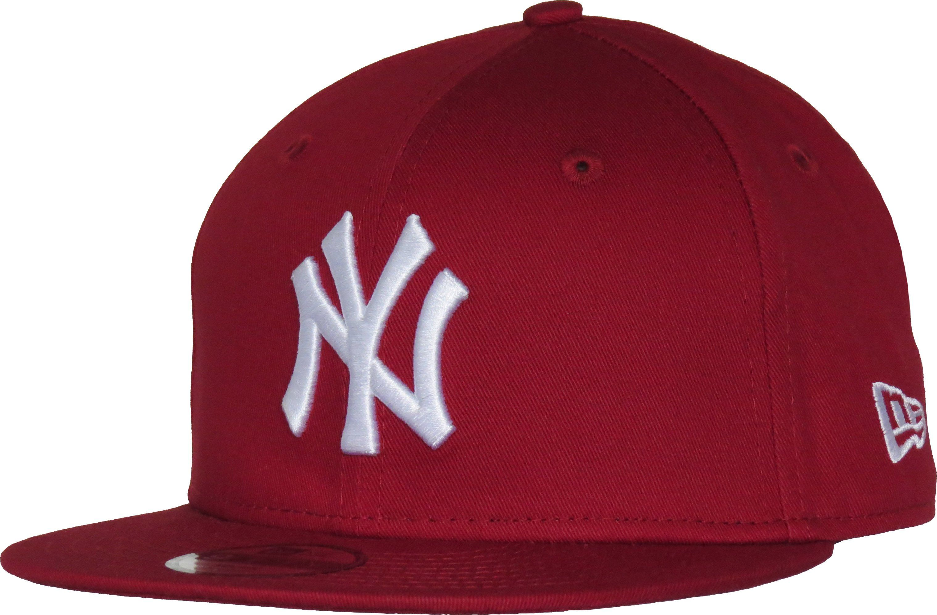 77a6f65601b921 NY Yankees New Era 950 Kids Essential Red Snapback Cap (Age 4 - 10 yea –  lovemycap
