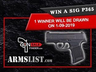 Sig P365 Pistol Giveaway | Handgun Giveaways in 2019 | Hand guns