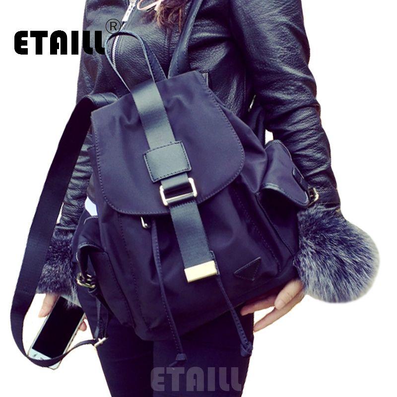 Nylon Waterproof Backpacks Drawstring School Bags For Girls Kipled Style  Travel Shoulder Bags Large Backpacks Sac a Dos Femme 864981d59f8a3