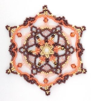You can find this pattern here: http://store.sandradhalpenny.com/snowflake-36-ornament-pattern-p557.php