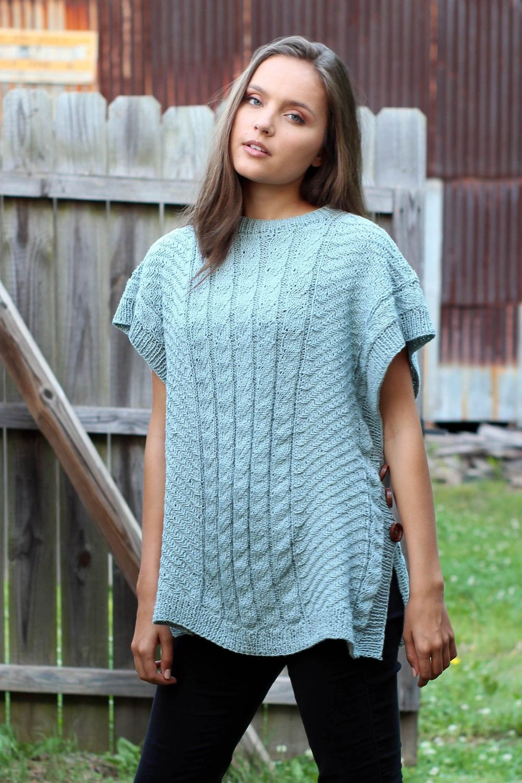 Knitting patterns free links | Crochet poncho free pattern ...