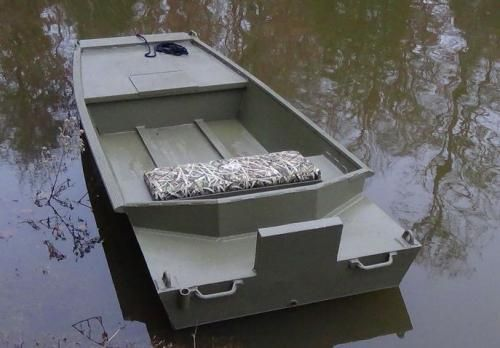 Mud Runner Pintail Duck Boat Carsens Layout Sneak