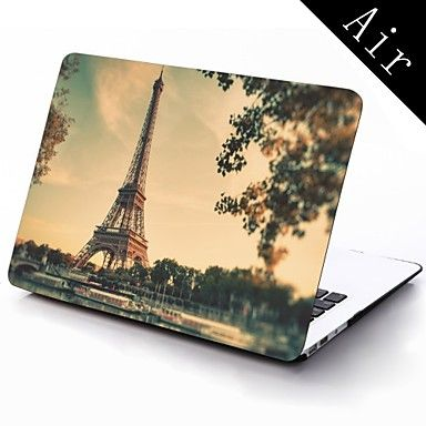 Paris Eiffel Tower Full-Body Protective Plastic Case for 11-inch/13-inch New Mac Book Air – USD $ 25.99
