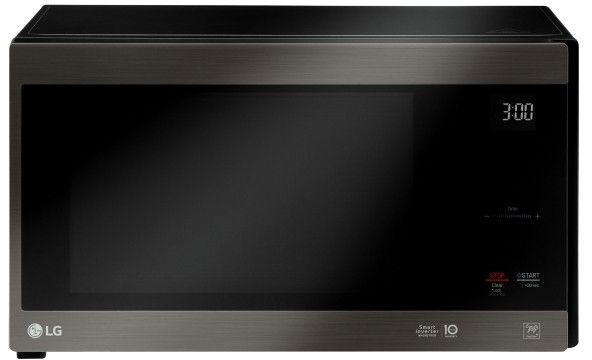 Lg Lmc1575bd Microwave Black Stainless Steel Countertops