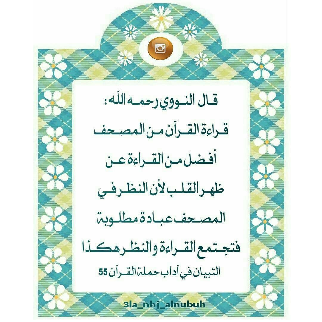 قراءة القرآن من المصحف عن ظهر قلب Frame Decor Home Decor