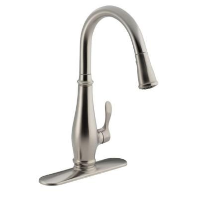Pull Down Sprayer Kitchen Faucet