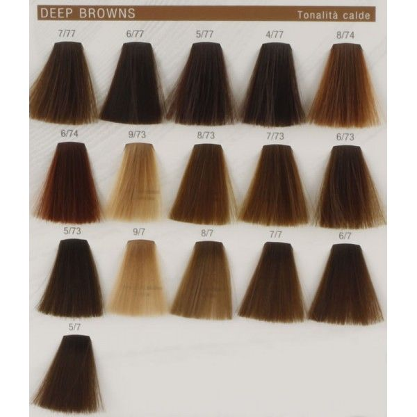 Koleston perfect deep browns warm also best wella images hair color charts dyes rh pinterest