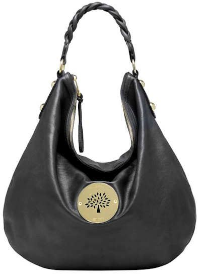 Mulberry Large Black Daria Hobo  0b72e90c0ee0b