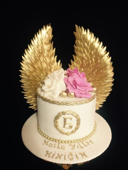 Angel Wings Cake Angel Cake Designs Pinterest Angel Wings