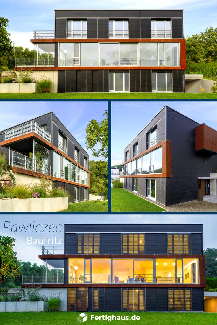 Moderne Architektur - Haus \'Pawliczec\' von Baufritz ➤ Erhalte alle ...