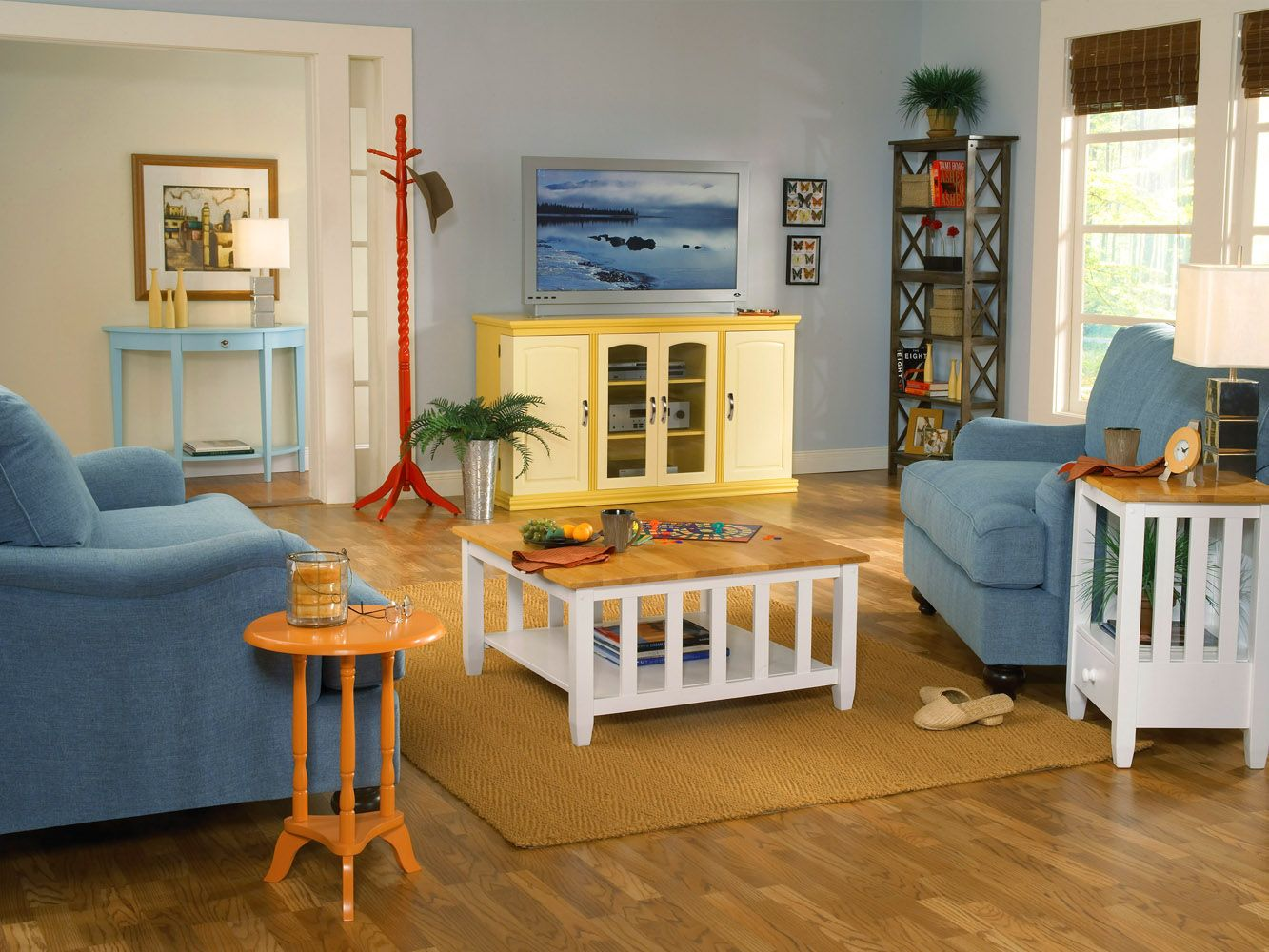 Unpainted furniture beautiful interior ideas