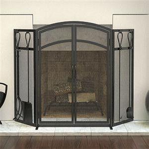 Panacea Fireplace Screen/Tool Set