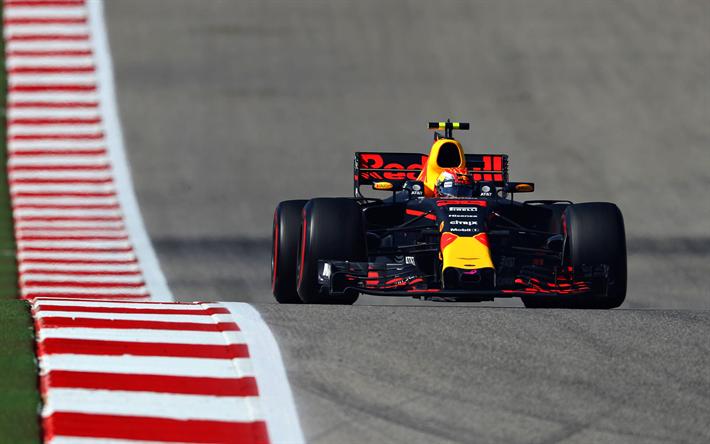 Lataa kuva Max Verstappen, Formula, Red Bull Racing, RB13, Formula 1, F1, raceway