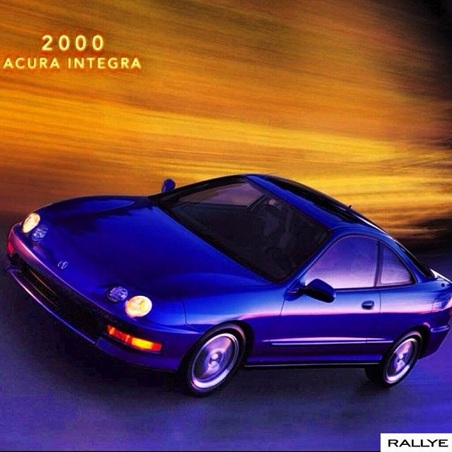 The #integra #coupe Combined The Versatility Of A 4-door