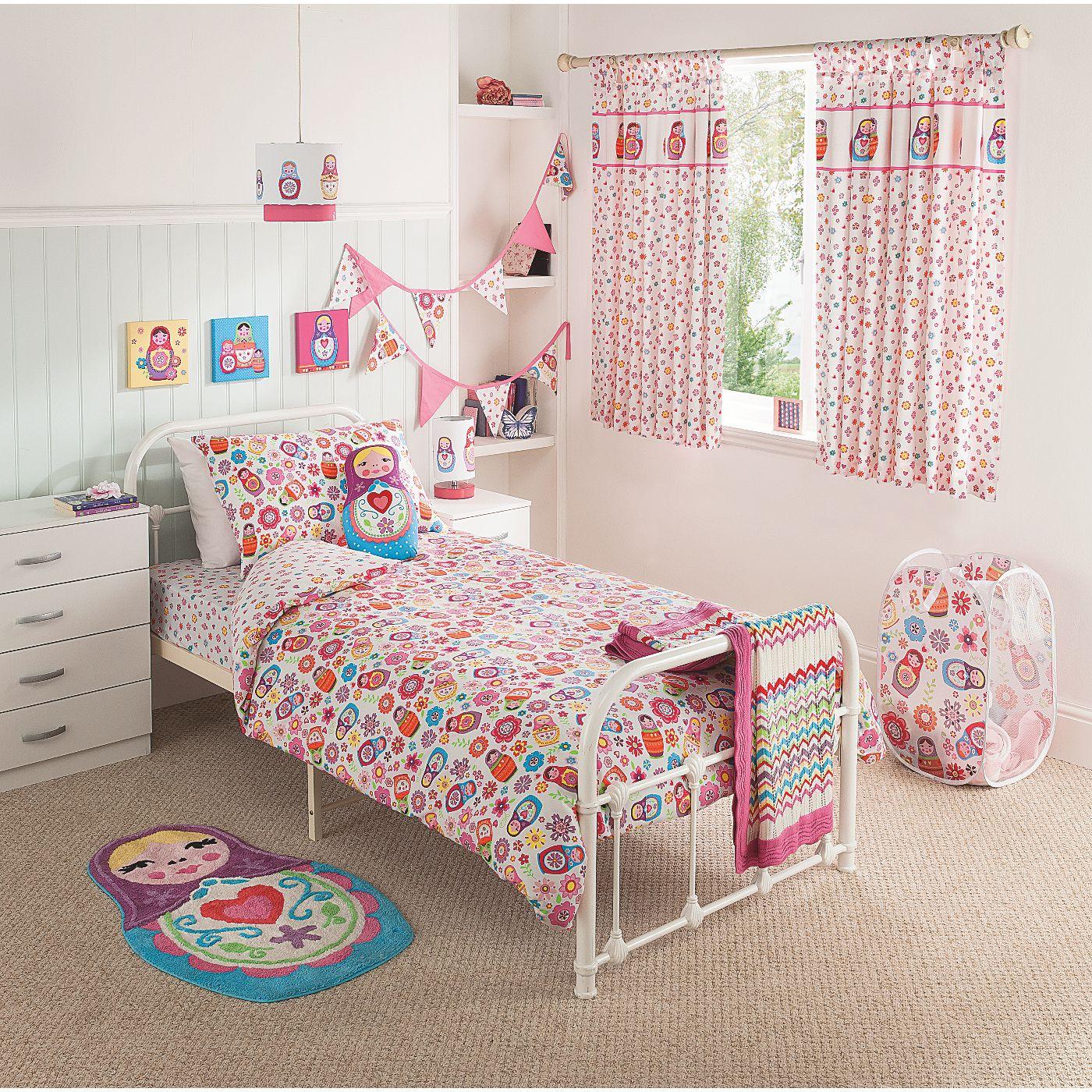 Home Russian Dolls Single Duvet Kids Bedding