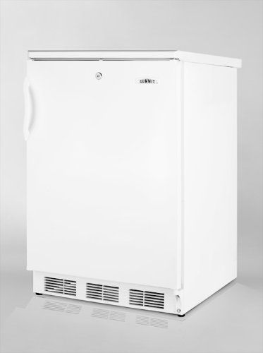 """Summit CT66L Freestanding Refrigerator-freezer with Lock, Summit's """"Dual Evaporator"""" Cooling and Cycle Defrost  SUMMIT's CT66 series offers quality undercounter refrigerator-freezers with exclusive technology for the best in cold storage conditions.   The CT66L uses SUMMIT's own dual evaporator system to separately cool the freezer and fresh food sections. Cycle defrost helps to reduce user maintenance on the refrigerator while maintaining a zero degree freezer that keeps frozen food.."""