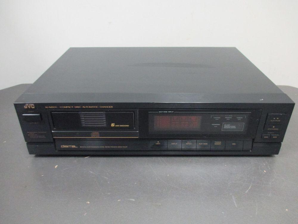 JVC XL M300 BK 6 CD Compact Disk Cartridge Changer Made In Japan