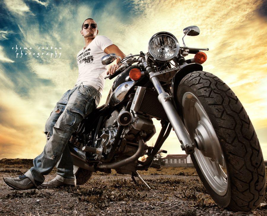 motorbiker - chema cordón