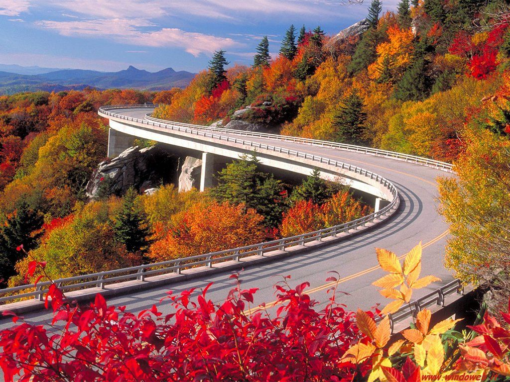 Image Detail For Granfather Mountain Paesaggi Blue Ridge Parkway Paesaggio Autunnale