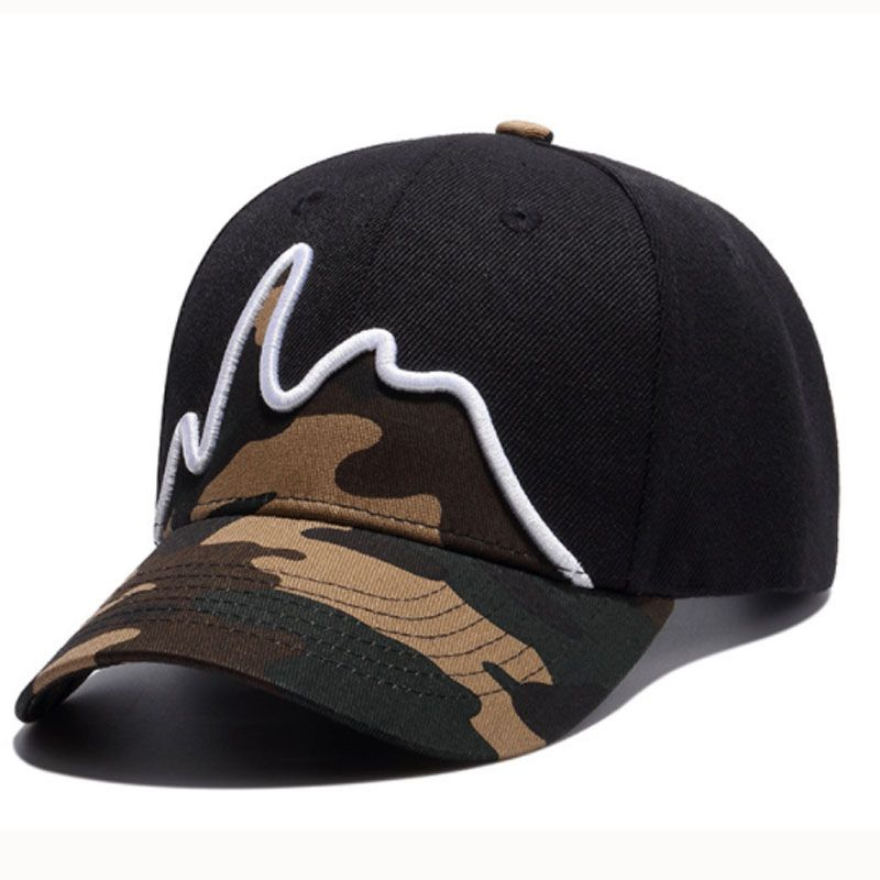 a7117184109 Baseball cap · Black Camouflage 3D Embroidery Baseball Caps