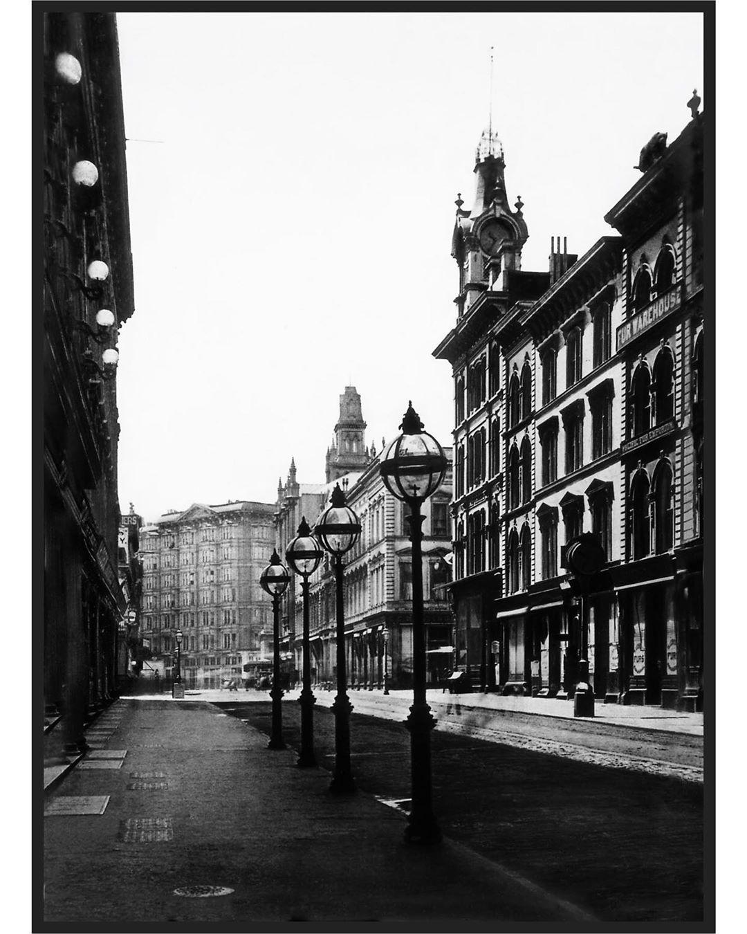Montgomery Street, San Francisco, c. 1876. SanFrancisco