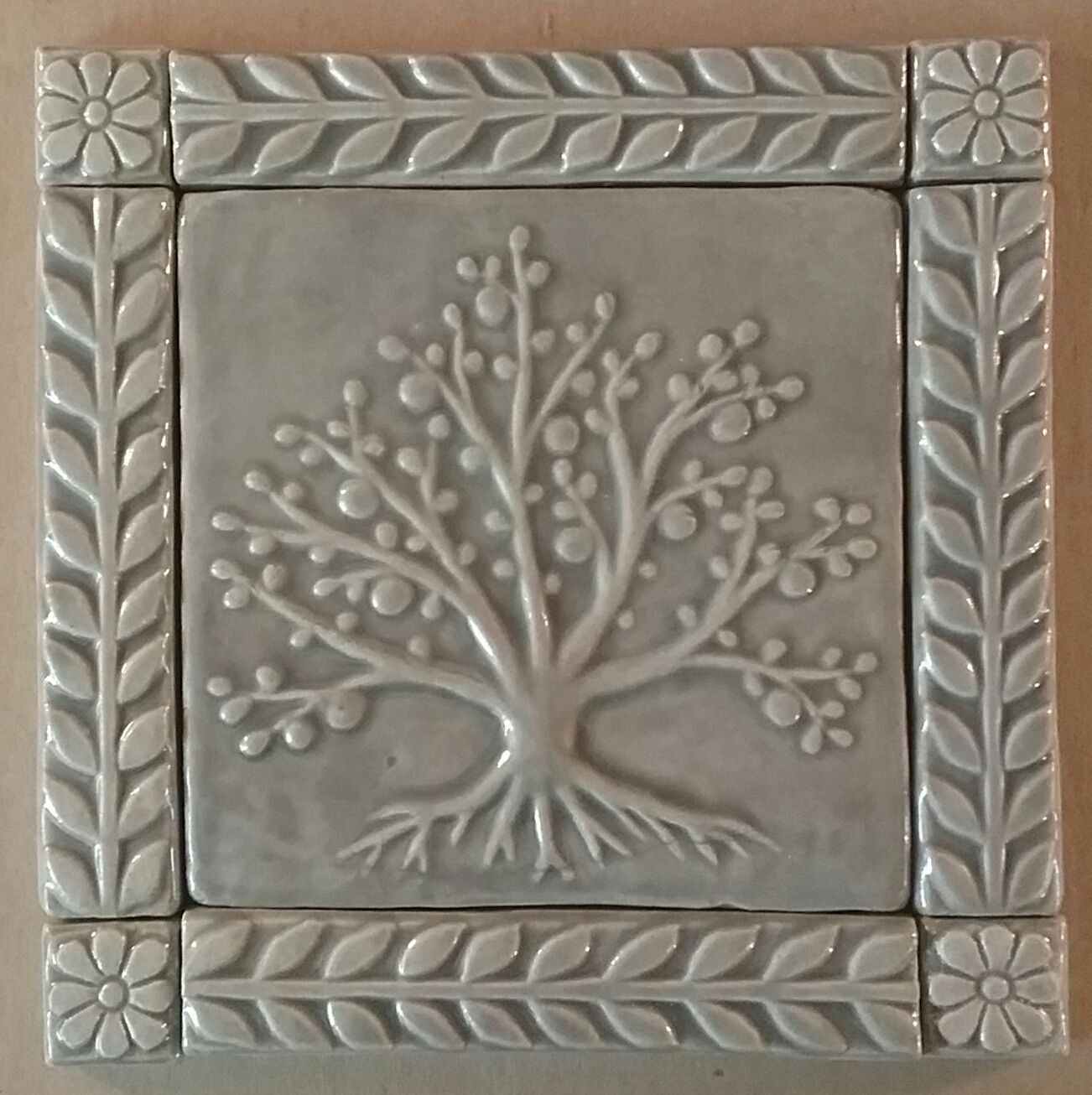 - A Tree Of Life 6 In 2020 Ceramic Tile Art, Handmade Tiles, Clay
